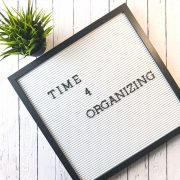 Time 4 Organizing